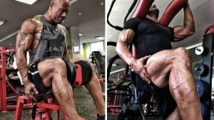 The Rock's Leg Workout Routine Is HARDCORE