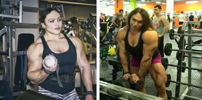 23 Year Old Russian Girl Bench Presses 375 Lbs But Wait