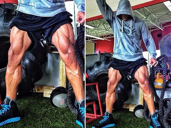 Dwayne-Johnson-workout-legs