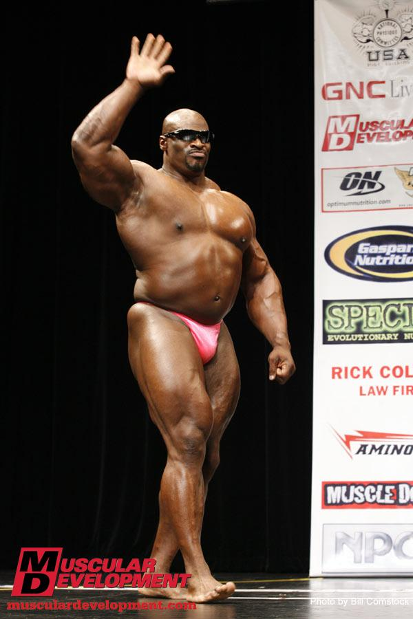 Ronnie coleman after competing days3