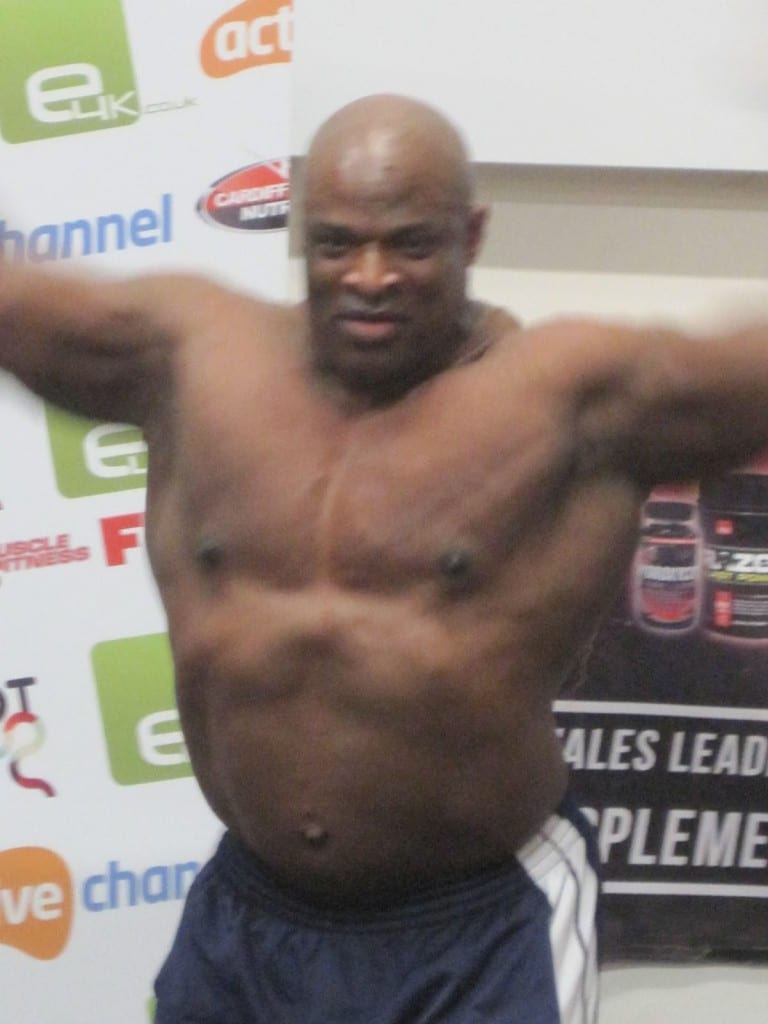Ronnie coleman after competing days4