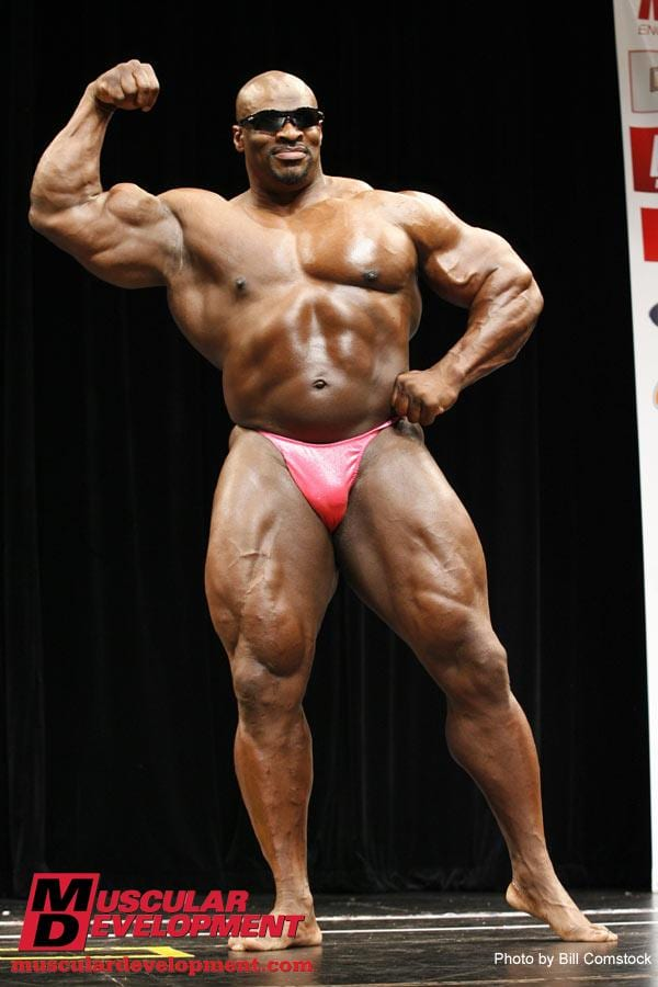 Ronnie coleman after competing days7