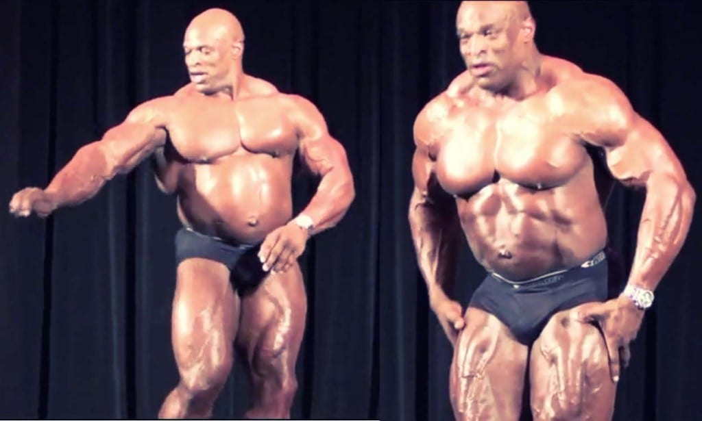 Ronnie coleman after competing days8