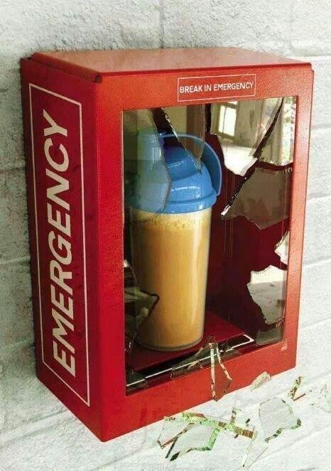 forgot protein shake