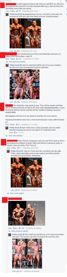phil heath gets extremly defensive