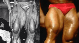 Tom Platz With The Biggest Legs Ever Seen On The Olympia Stage in 1986