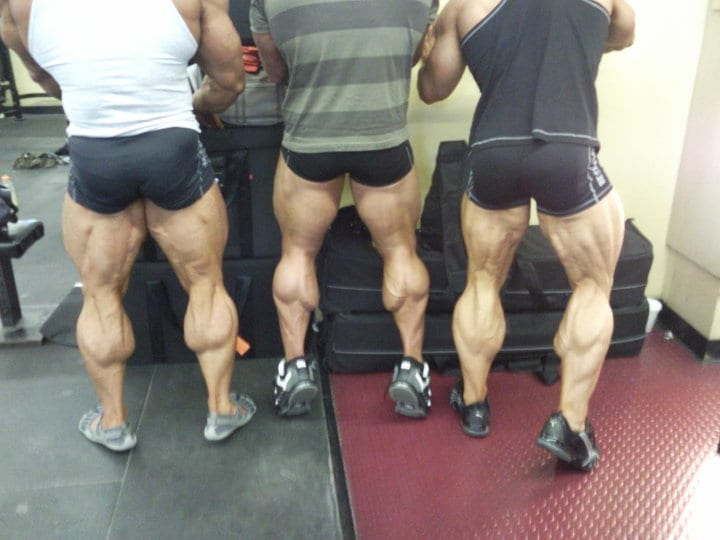 get bigger and better calves at home