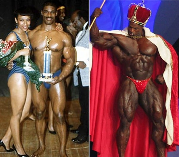 Before after picture of famous bodybuilders10