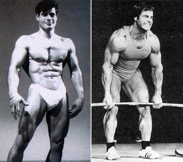 Before after picture of famous bodybuilders16