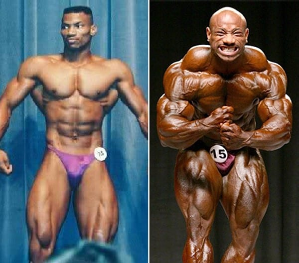 Before after picture of famous bodybuilders20