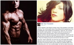 "Powelifter Matt ""Kroc"" Kroczaleski Explains His Life Situation As A Transgender & A Masculine Male"