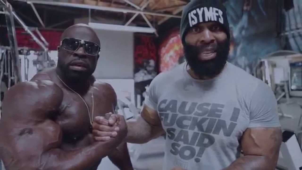 CT Fletcher & Kali Muscle - How They Train Arms For