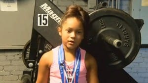 9 Year Old Girl Breaks 3 Olympic Records While Deadlifting!
