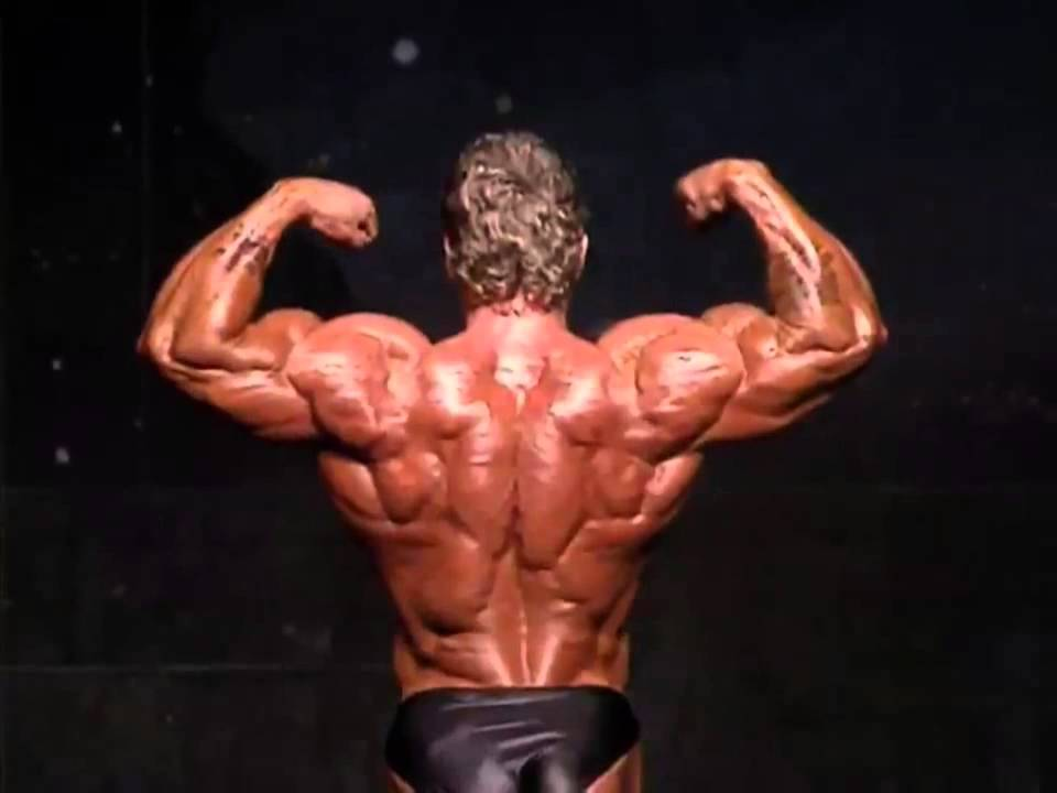 Dorian Yates Incredible Physique For His First Olympia Win