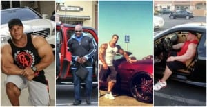 Comparison Of Phil Heath's, Jay Cutler's, Ronnie Coleman's, Rich Piana's and Arnold's Cars