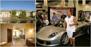 Inside Jay Cutler's Mansion In Las Vegas