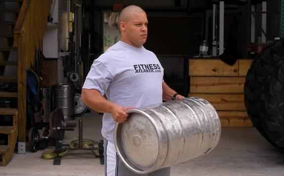 keg workout
