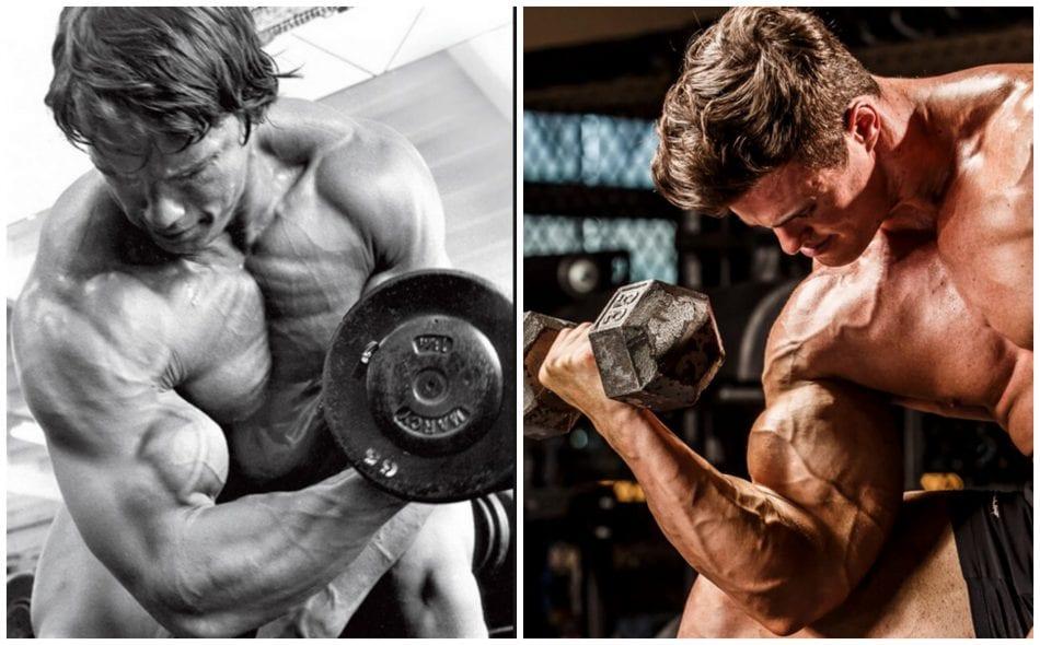 Build bigger arms with Calum Von Moger's superset arms workout pics