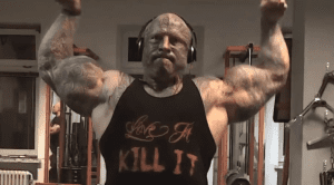 Tattooed Freak Bodybuilder Gets Roasted By Elgintensity For Training With Bad Form
