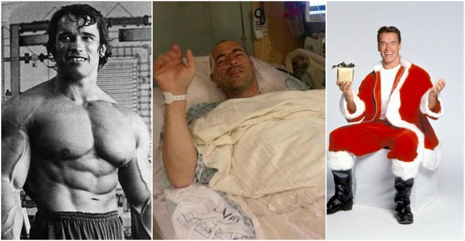 Arnold schwarzenegger and reddit bodybuilders give the best gift to arnold schwarzenegger and reddit bodybuilders give the best gift to a fan in hospital broscience malvernweather Choice Image