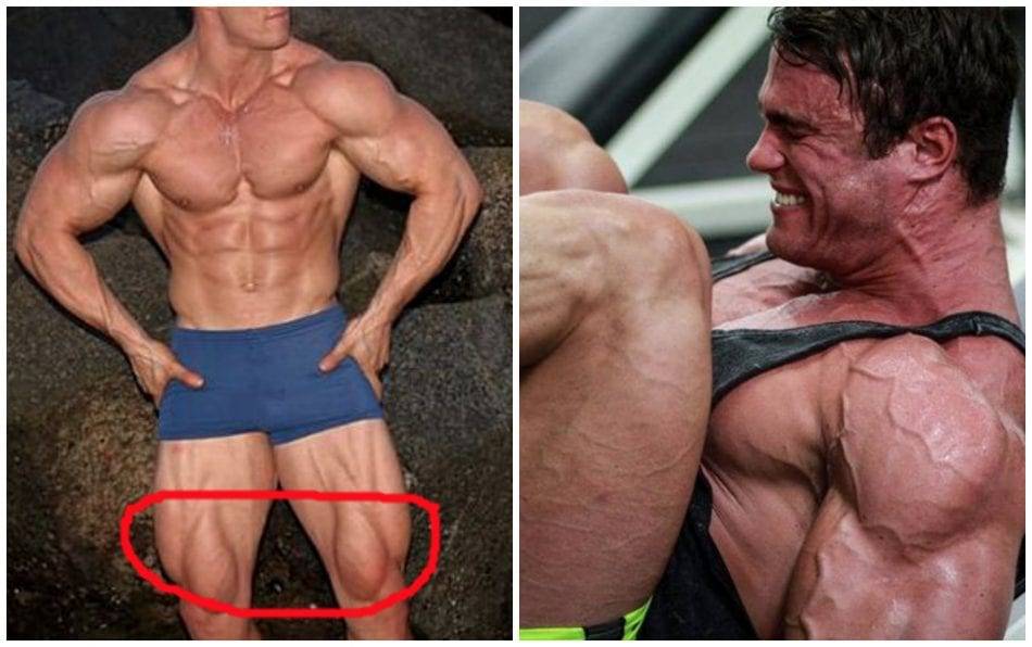 Calum Von Moger Shows Us How He Builds Up Massive Quads