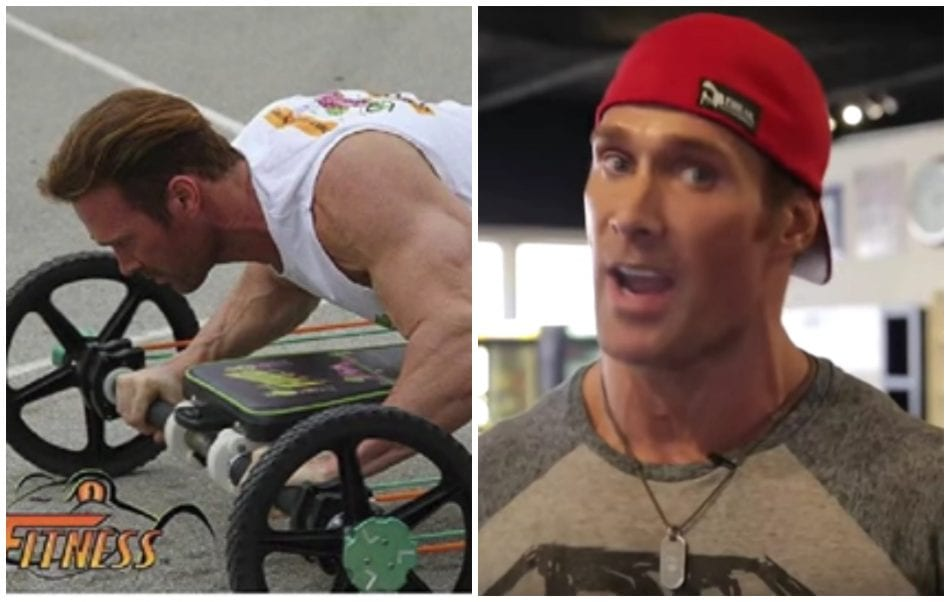 """Mike O'Hearn Is Now Selling An Ab Wheel Aka """"Frog Fitness"""