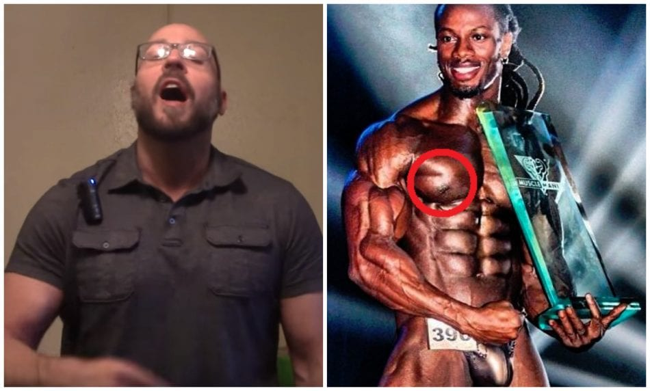 "Steroid Expert Calls Ulisses JR Out For Being A ""Fake Natty"""