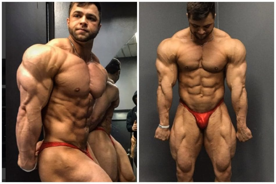 22 Year Old Bodybuilder Looks Like He Has Been Lifting For