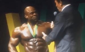 Arnold Schwarzenegger SHOCKINGLY Humilates & Trolls Kai Greene