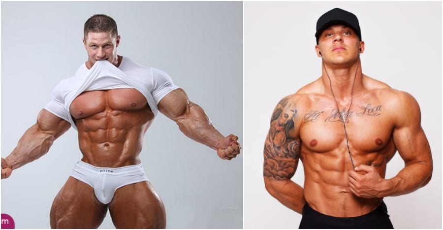 steroid user before and after pictures