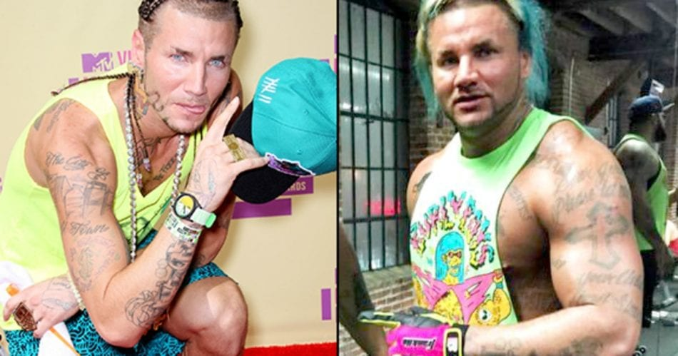 See related:rapper Riff Raff gave up hardcore drugs to put on 20lbs of muscle.