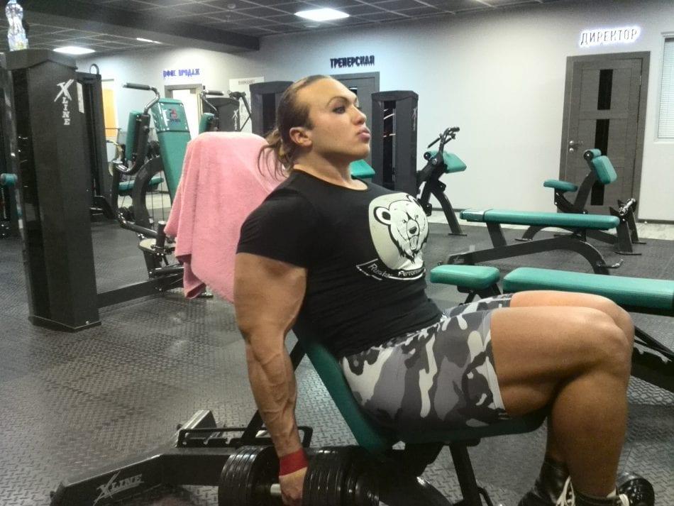 Huge Muscular Russian
