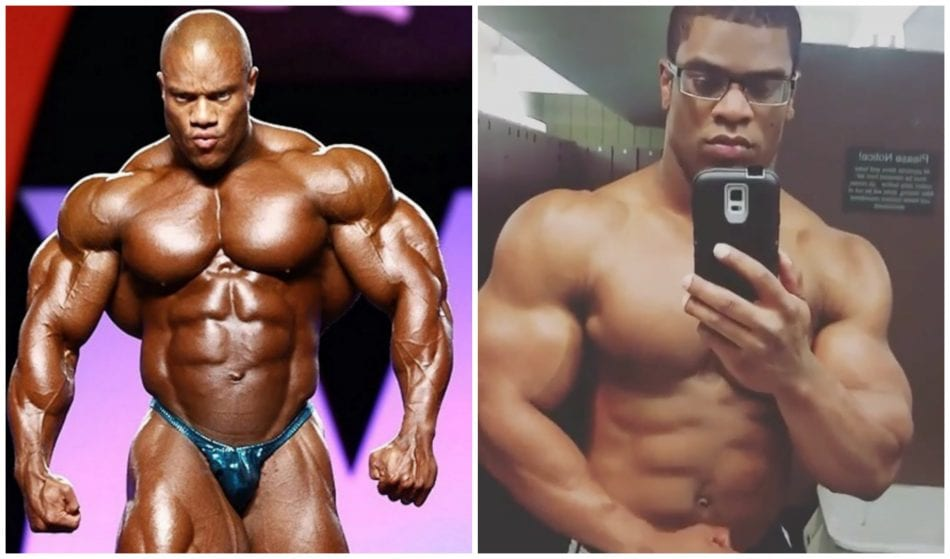 Is This Mr Olympia S Phil Heath S Natural Twin