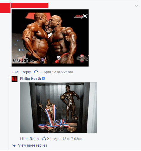 phil heath owning haters