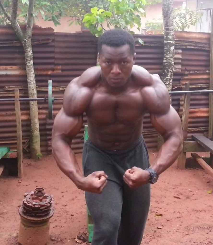 5 Hulking Bodybuilders from Africa that will make you feel