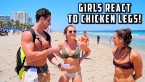 Watch These Girls Make Fun of Guys With Small Legs.. Or Wait?