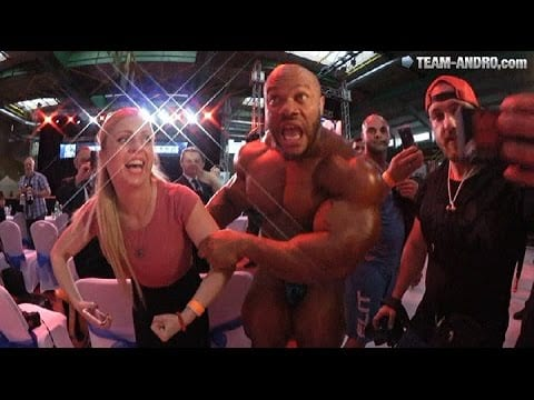 Is This The Biggest Phil Heath Ever? – See Him Posing A Few Days Ago