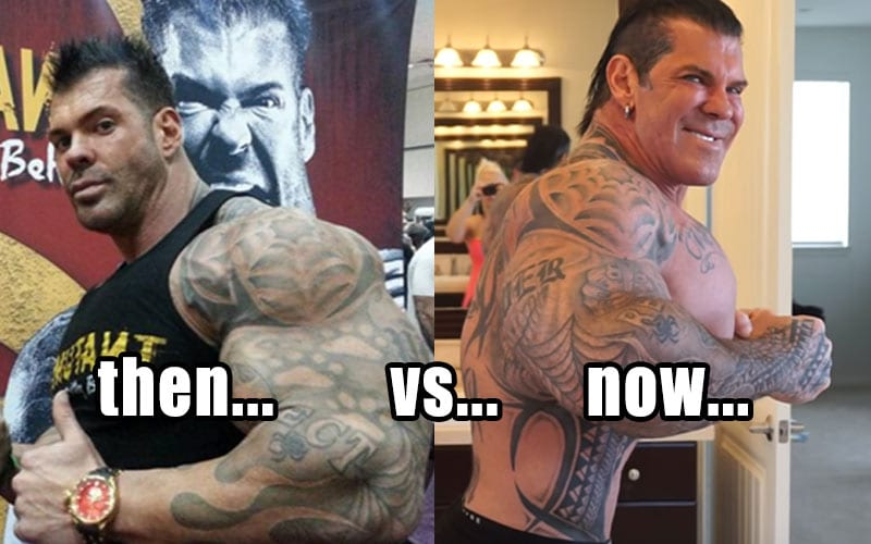 Is Rich Piana's head going to explode?