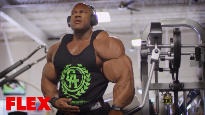 This Is How Phil Heath Builds Up His Shoulders Before The Mr Olympia