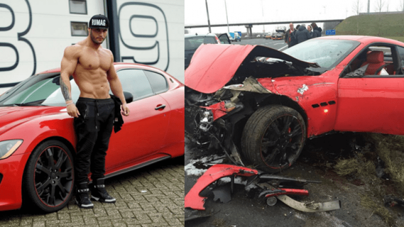 Tavi Castro was left for dead in his car crash