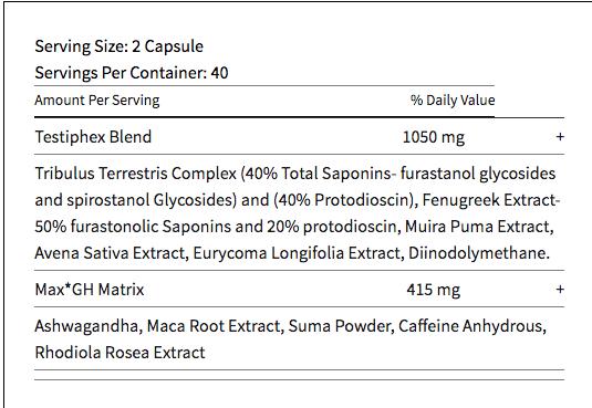 primal-t ingredients