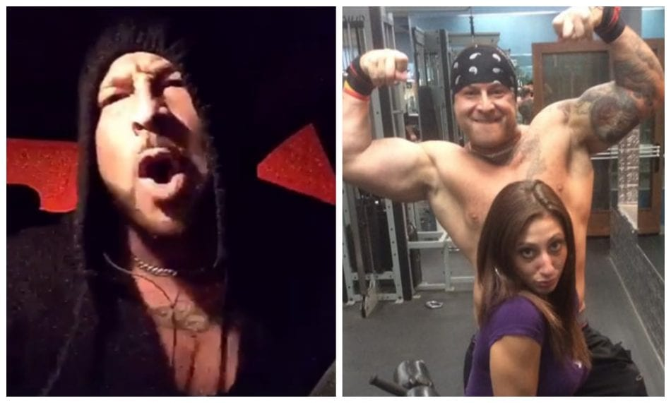 Bodybuilder Goes Nuts After His Workout Buddy Leaves To ...