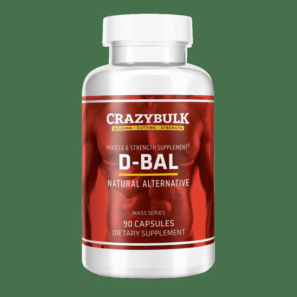 D-Bal Review - Best Legal Dianabol by Crazy Bulk That