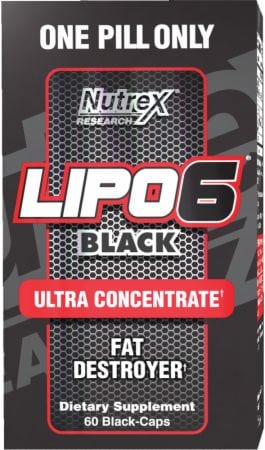 Side effects of lipo 6 black ultra concentrate