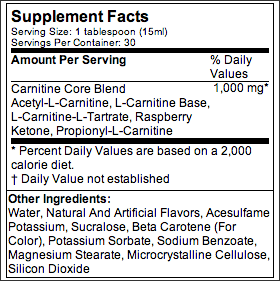 carnitine core liquid review