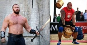 Watch The Mountain Destroy the Keg Toss record during the Last World's Strongest Man event