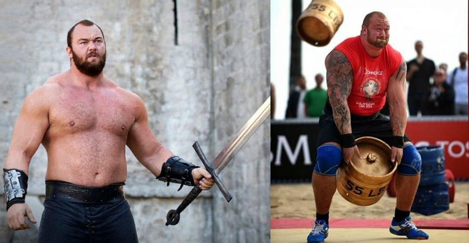 Watch The Mountain Destroy the Keg Toss record during the ...