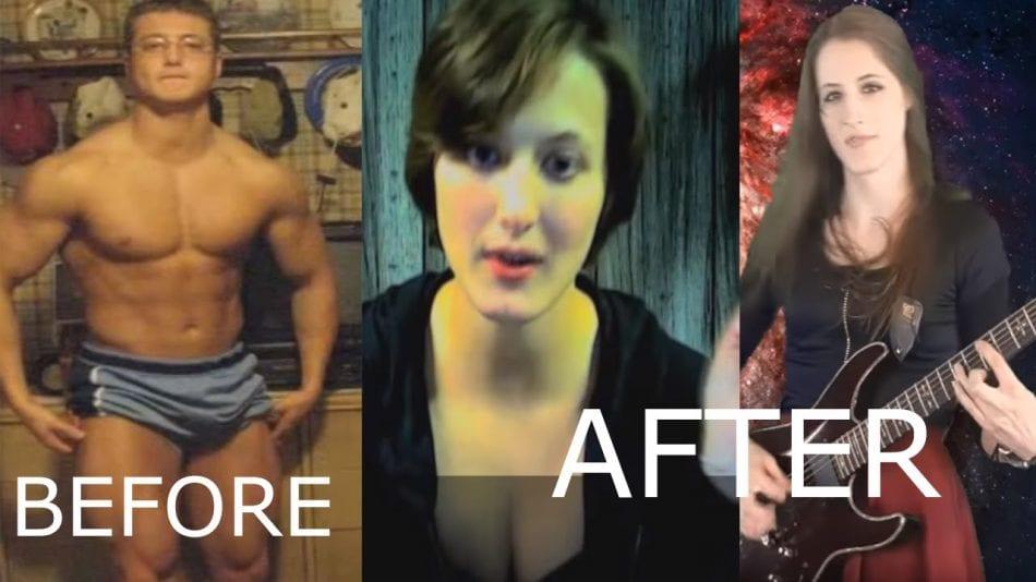 Massive Shredded Bodybuilder Transitions Into A Female Via HRT