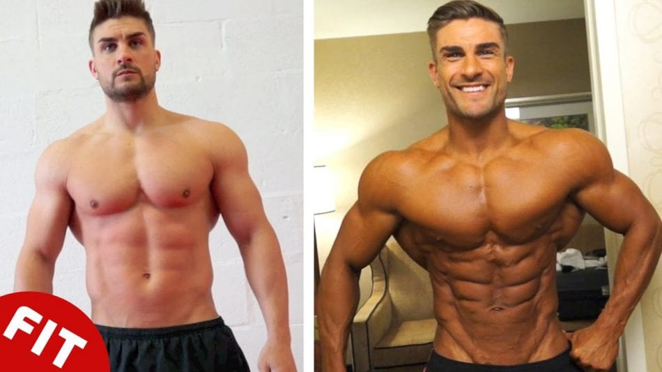 Ryan Terry's 12 Week Incredible Transformation For The Mr