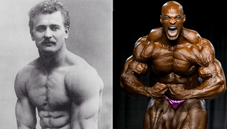 The Difference In Muscle Gains By A Steroid User VS